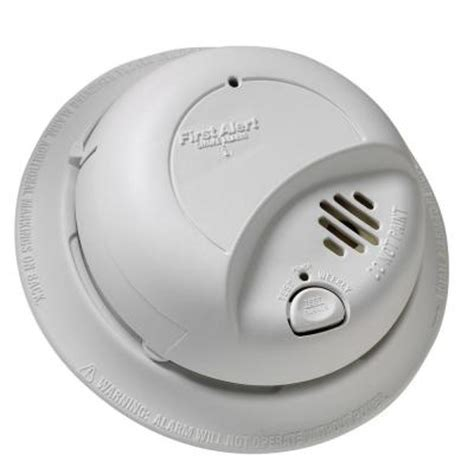 alert 120 volt ac smoke alarm with lithium battery