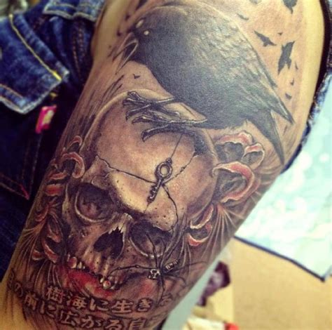 killer tattoos killer skull by v at mao malaysian