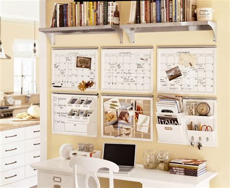 Work Desk Organization Ideas Pottery Barn Organization Center Ideas Desk After