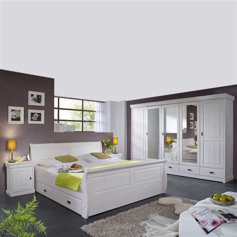 schlafzimmer komplettset komplett schlafzimmer im landhausstil janeira i wohnen de
