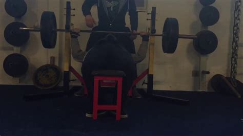 3x3 bench press 02 01 2017 bench press training 140kg 3x3 youtube