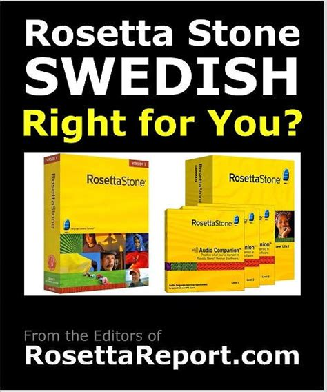 Rosetta Stone Zweeds | is rosetta stone swedish software right for you find out