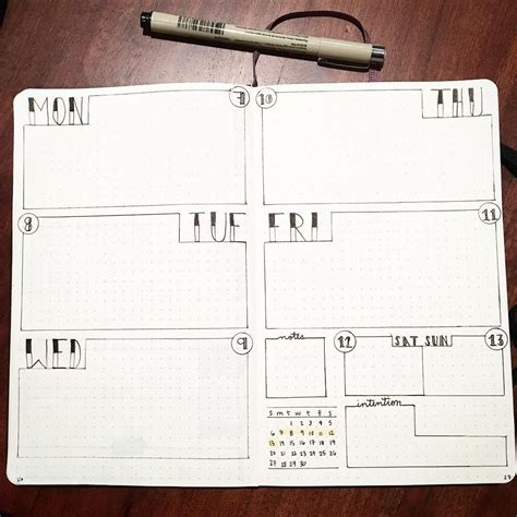 spread layout pinterest pin by stephanie keyes ya na author on bullet journals