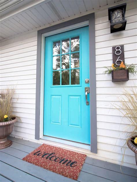 How To Paint Fiberglass Doors Gina Michele