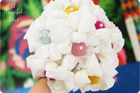 How To Make Toilet Paper Flowers - toilet paper flowers 3