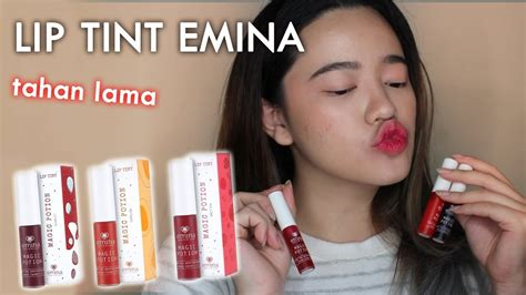 Harga Emina Lip Tint review jujur emina magic potion lip tint