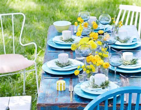 Sommerliche Tischdeko by Tischdeko Ideen F 252 R Die Sommertafel Living At Home