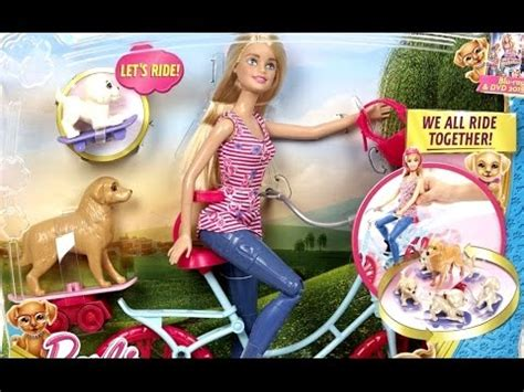 film barbie przygoda z pieskami barbie na rowerze z pieskami barbie i jej siostry