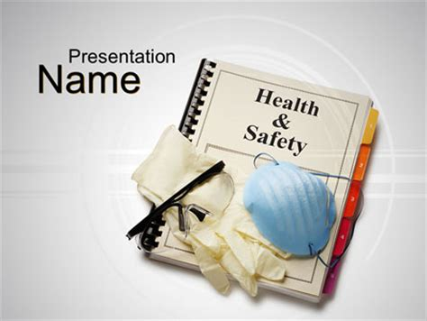 Health And Safety Powerpoint Template Backgrounds 10352 Poweredtemplate Com Microsoft Powerpoint Templates Safety