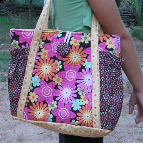 no pattern tote bag original satchel tote bag pdf sewing pattern instant