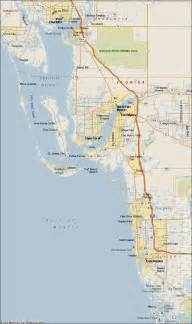 map of south florida and south west florida coast map