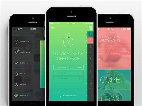 design inspiration ios 318 best images about mobile ui dashboards on pinterest