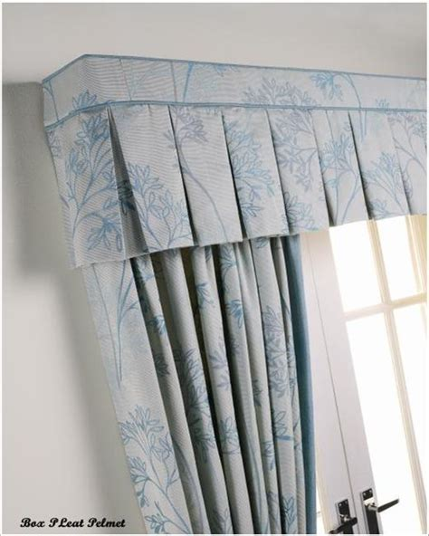 Images Of Curtain Designs by Box Pleat Pelmet