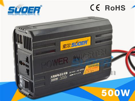 Suoer Power Inverter 500 Watt Solar Controller Charger Sus 500 A suoer inverter power inverter modified sine wave 12 volt 220 volt 500w saa 500as in inverters