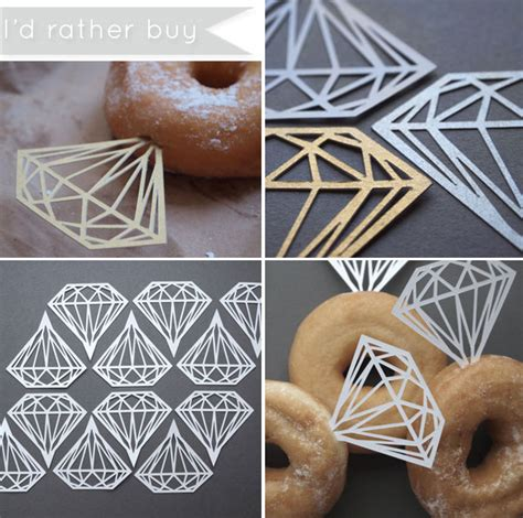 how to donut rings for getting ready before the wedding easy diamond ring donuts kate aspen blog