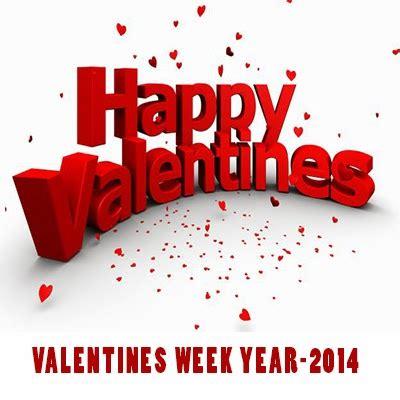 valentines days week day wise date wise list of valentines week of 2015
