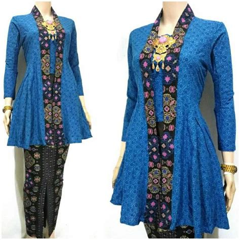 ッ 21 model baju batik kutu baru modern untuk wanita