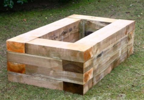 Timber Planter by Wooden Planter Boxes For Gardens And Patios