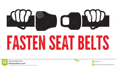 Free Cabin Plans by Fasten Your Seat Belts Icon Stock Vector Image 33812799