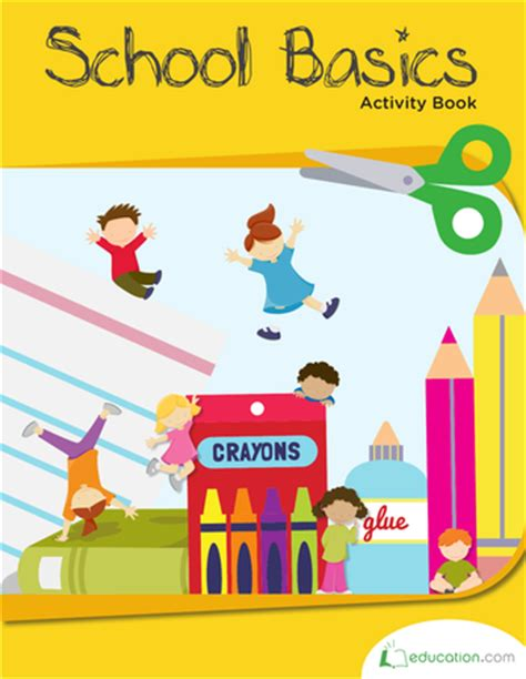 school basics a preview of school and reasoning books school basics activity book workbook education