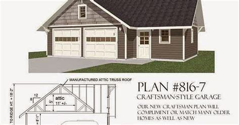 Home Plans Craftsman Garage Plans Blog Behm Design Garage Plan Examples