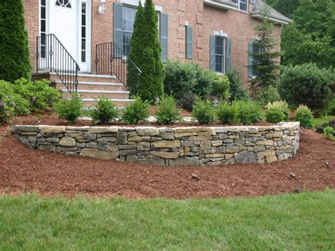 Retaining Wall Designs Ideas Landscaping Stone Retaining Ideas For Garden Walls