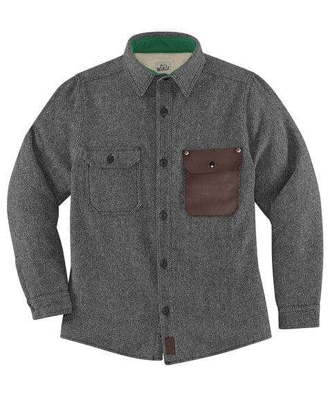mens outdoor clothing made in usa woolrich x danner growth shirt jacket by woolrich 174 the
