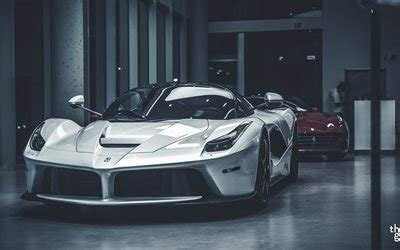 wallpapers ferrari laferrari supercars