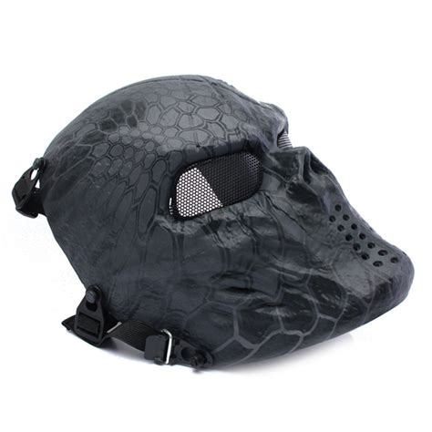 Creambath Masker Bq Yp airsoft paintball skull mask protection outdoor tactical gear sale banggood