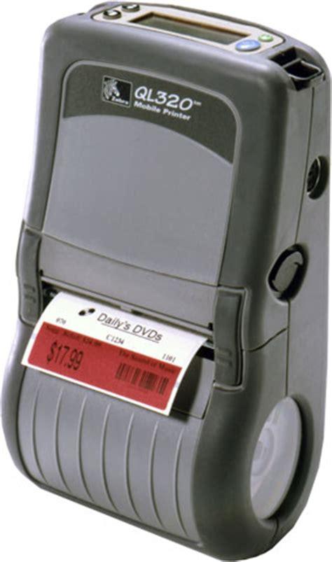 Lu Mobil Zebra Zebra Q3d Lu1a0000 00 Portable Barcode Printer The