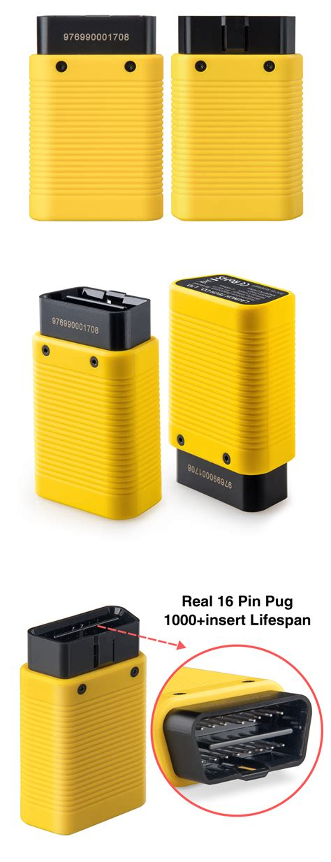 Casing Panasonic X300 launch easydiag 3 0 android obd2 scanner better than