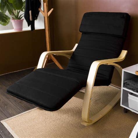 poltrona sdraio relax poltrona sdraio relax sedia a dondolo fst16 sch nero