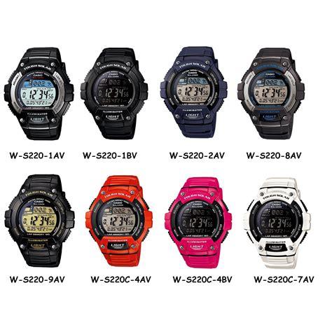 Jam Tangan Casio W S220 8av jam tangan casio original w s220 1bv elevenia