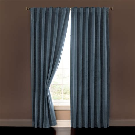 drapes blackout the home theater blackout drapes hammacher schlemmer