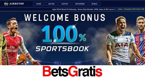 airbet bonus  member  bet gratis link alternatif airbbet