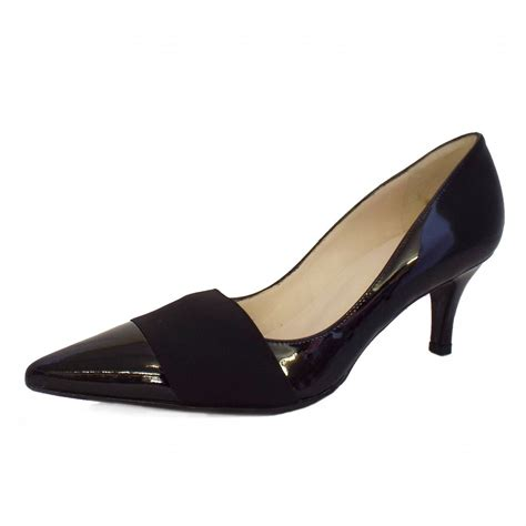 black patent shoes kaiser sabana black patent leather pointed