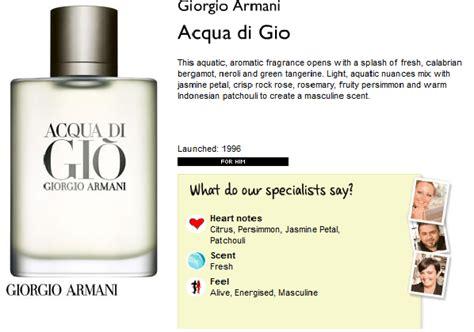 Berapa Parfum The Shop genie collection giorgio armani acqua di gio scent shop