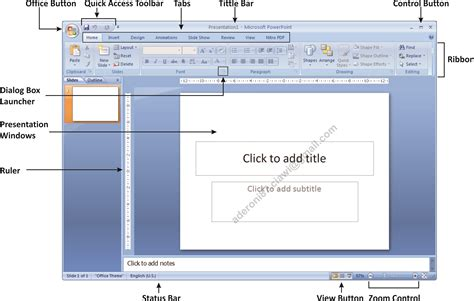fungsi layout dalam microsoft power point materi dasar power point 2007 fahzi s blog