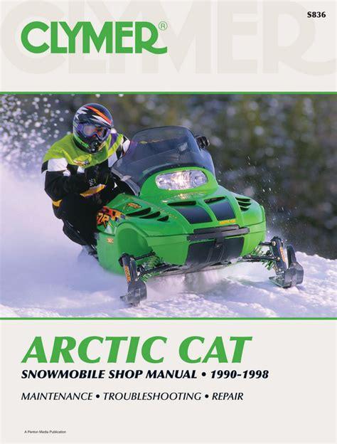 Arctic Cat Snowmobile 1990 1998 Service Repair Manual