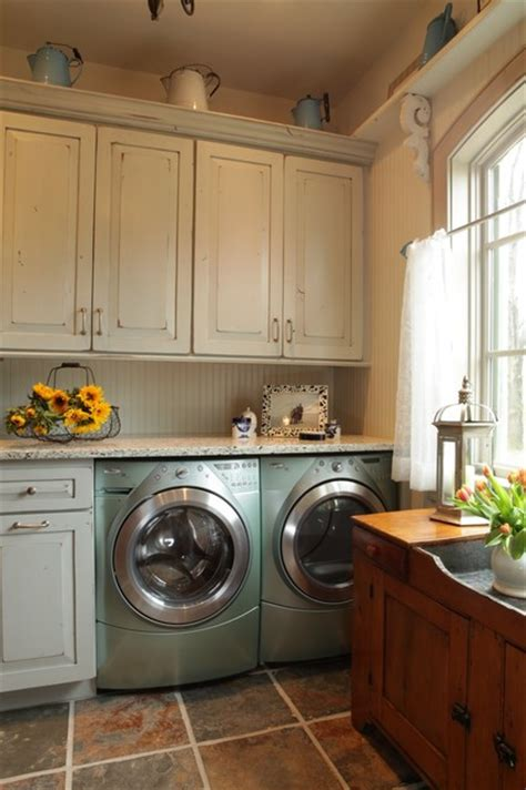 laundry in kitchen ideas rausch rustic laundry room st louis by karr