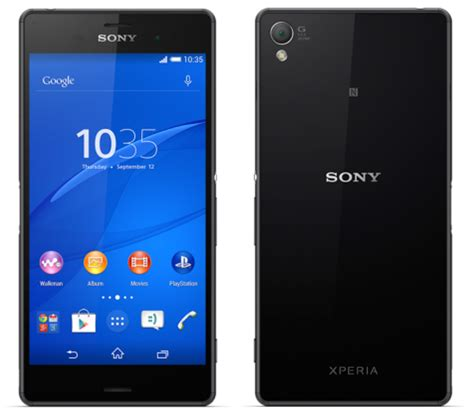 Hp Sony Xperia 5 Inch sony xperia z3 arrives at rogers bell telus wind mobile