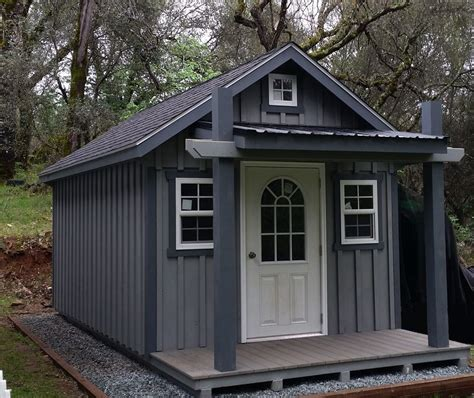 Building A Small House In The Backyard by Backyard Unlimited Offers Tiny Adaptable Amish Built