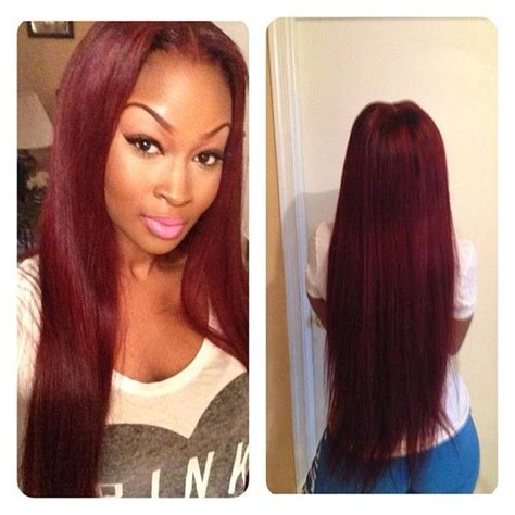 Top picture of red sew in hairstyles alice smith
