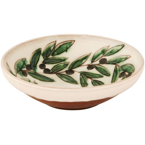 Handmade Pottery Bowls For Sale - pottery bowls for sale engraved olive wreath