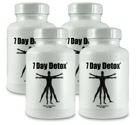 Ultimate Gold Detox Drink Ingredients by 3 Pack 7 Day Detox And 1 Free Seven Day Detox 7 Day