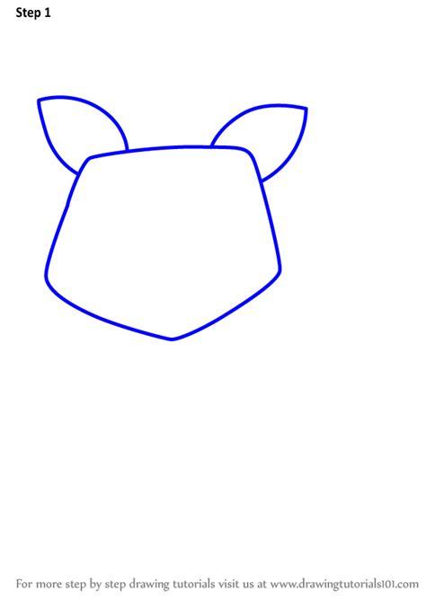 learn   draw  raccoon  kids animals  kids