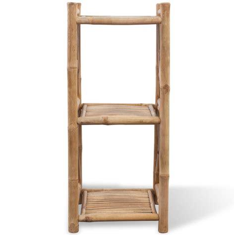 regal viereckig bambus regal 3 etagig viereckig g 252 nstig kaufen vidaxl de