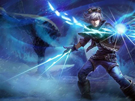 wallpaper hd android mobile legend frosted ezreal game skins league of legends desktop hd