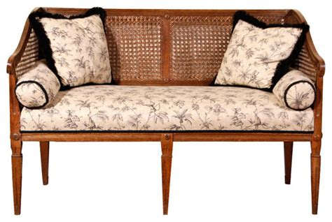rumi antiques settee two seater modern indoor benches