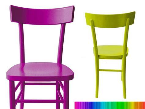 ikea sedie colorate sedia in legno verniciata